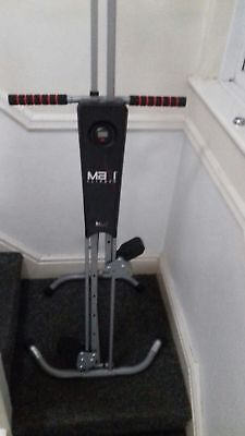 Maxi Climber The Unisex Vertical Climbing Fitness System Stepper Cardio Machine