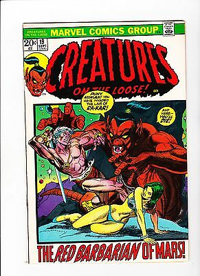 Creatures on the Loose #19 (Sep 1972, Marvel) - 9.4