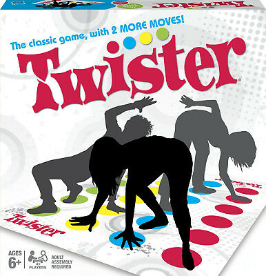 UK STOCK Twister The Classic Family Childrens Party Game - Genuine Hasbro