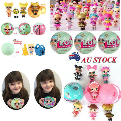 1/4/8PCS LoL Surprise Dolls Series 1 Lil Sister 7 Layers Toys Christmas Gifts