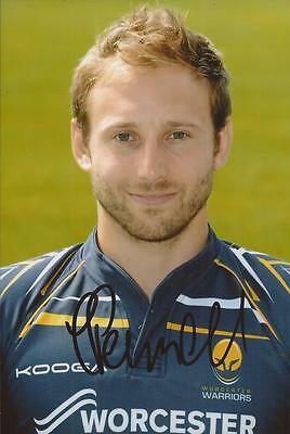 WORCESTER WARRIORS RUGBY UNION * CHRIS PENNELL SIGNED 6x4 PORTRAIT PHOTO+COA