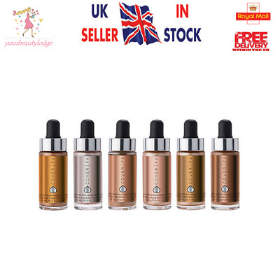 ❤️  Cover FX Custom Enhancer Drops Brand New in Box 15ml  ❤️ 8 Shades  ❤️
