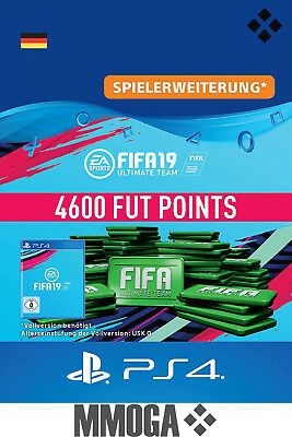 PS4 - FIFA 19 Ultimate Team - 4600 FUT Points Key Playstation 4 Code Nur für DE