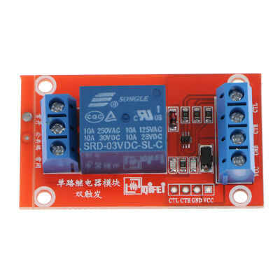 2X 3V 10A 1 Channel Relay Module With optocoupler For Arduino PIC AVR DSP