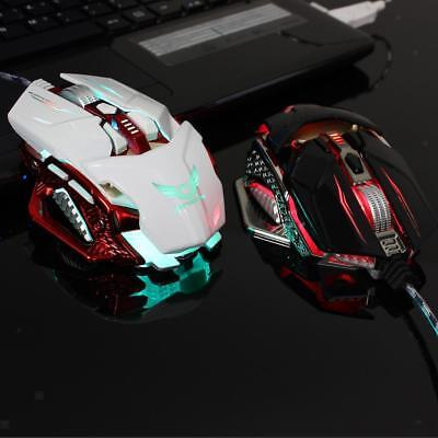 Adjustable 4000DPI 8 Programmable Keys Wired Gaming Mouse USB for Laptop PC
