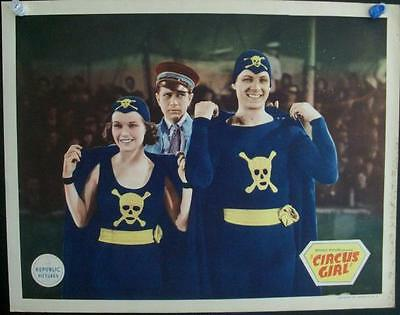 Republic Pictures Circus Girl Original 1937 Us Lobby Card Lot Of 5