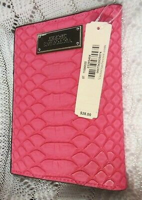 NWT   Victoria's Secret   Pink  Python  Passport  Cover