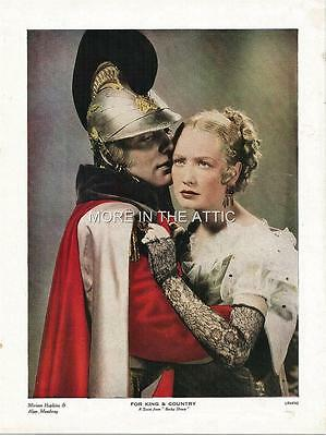 Stunning Miriam Hopkins Becky Sharp Original Vintage Uk Portrait Premium
