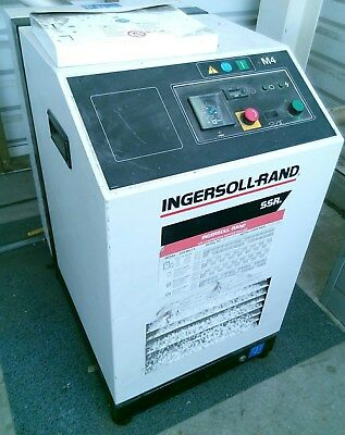 Ingersoll Rand SSR M4 4kW 3-phase air compressor + 200L HOVAL tank