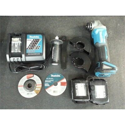 "Makita XAG03M Lithium Ion Brushless Cordless Cut Off Angle Grinder Kit, 14 1/4""L"