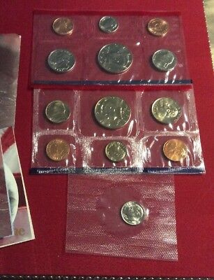 United States Mint 1996 Uncirculated Coin Set