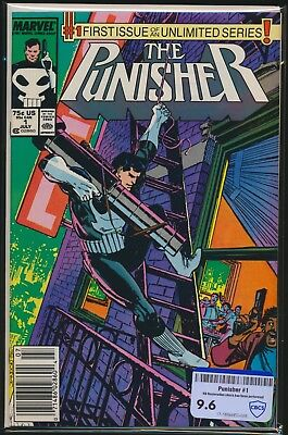 Marvel Comics The Punisher #1 1987 Cbcs Raw Grade 9.6 1St Issue Ongoing Series