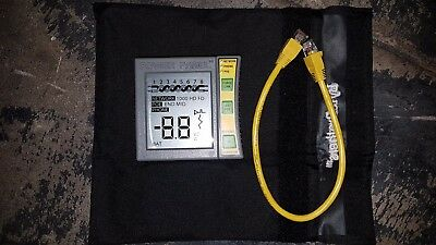 Genuine Byte Brothers POE1000il Power Panel CAT5/6 DVM and Network/POE Tester
