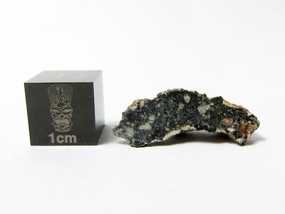 New Lunar Meteorite 1.14g Awesome Endcut of a Magnificent Moon Rock