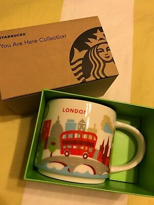 "Starbucks  London Mug  ""You are Here"" (YAH)  Collection BNIB"