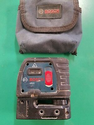 Bosch GPL 5S - 5 Point Self Leveling Alignment Laser