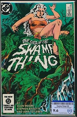 Dc Comics The Saga Of Swamp Thing #25 1984 Cbcs Raw Grade 9.6