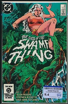 Dc Comics The Saga Of Swamp Thing #25 1984 Cbcs Raw Grade 9.4
