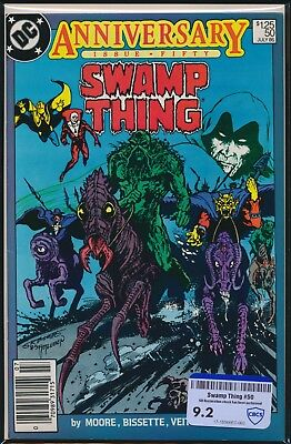 Dc Comics Swamp Thing #50 1986 Cbcs Raw Grade 9.2