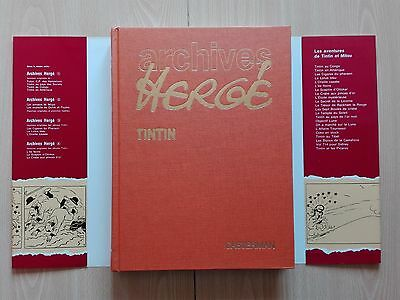 "Tintin - ""Archives Hergé - Vol. 4''- French Edition + Free Bag"