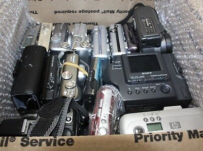 Lot of 21x Digital Point + Shoot Cameras *Untested  Parts/Repair