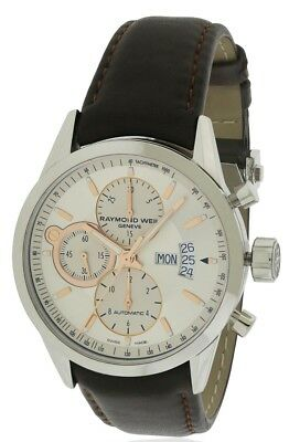 6306ad114fd RAYMOND WEIL FREELANCER Leather Automatic Mens Watch 7730-STC-65025 ...