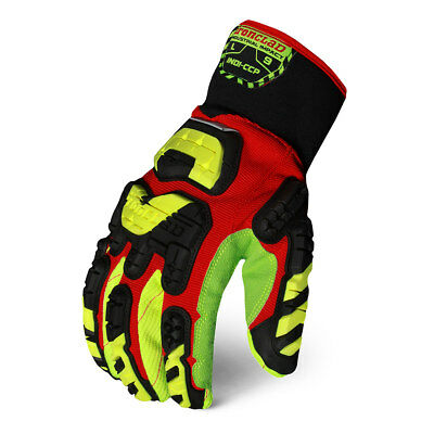 Ironclad Industrial Impact Cotton Corded Palm Gloves - INDI-CCP