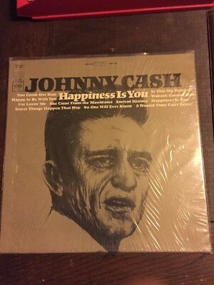 Johnny Cash LP Happiness Is You