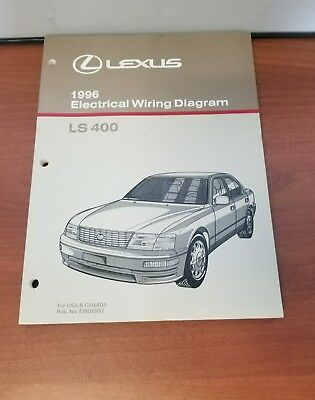 New 1996 lexus ls400 electrical wiring diagram manual usa canada new 1996 lexus ls400 electrical wiring diagram manual usa canada ewd250u asfbconference2016 Image collections