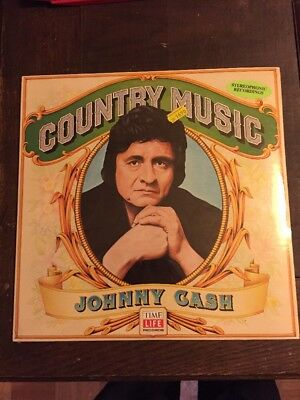 Johnny Cash LP Country Music