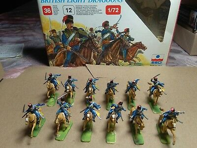 Figuren 1 72 British Light Dragoons 12 St. BEMALT
