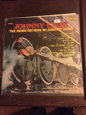Johnny Cash LP The Rough Cut King Of Country Music
