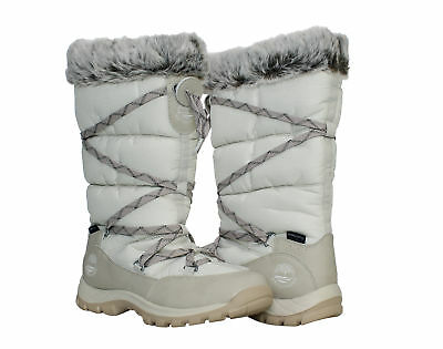 Timberland Chillberg Over the Chill Waterproof Winter White Women's Boots 2161R