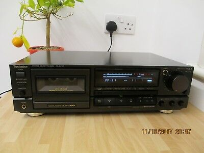 Technics RS-BX 707  Class AA  Stereo Cassette Recorder with Direct Drive