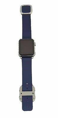 Apple Watch 1st Generation Stainless Steel with  Midnight Blue Modern Buckle