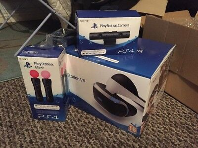 Playstation Vr Bundle - VR Headset, Move Controller X2, PlayStation Camera