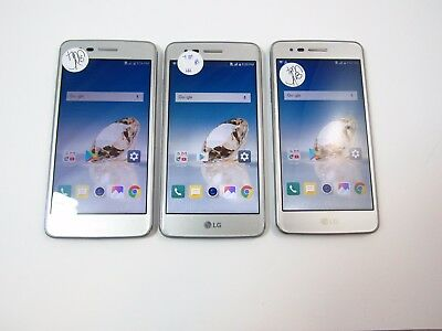 Lot of 3 LG Aristo M210 Tmobile Check IMEI B