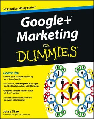 Google+ Marketing For Dummies by Jesse Stay 9781118381403 (Paperback, 2012)