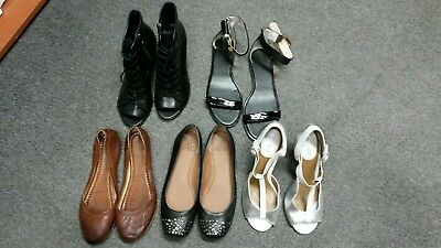 Mixed Lot Of Womens Ladies Shoes Size 7.5-8
