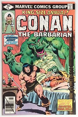 Conan the Barbarian King-Size Annual #5, VF+, Wedding Night Gone Wrong Cover