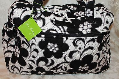 Vera Bradley Diaper Bag In Night And Day Pattern  W / Changing Pad Nwt Authentic
