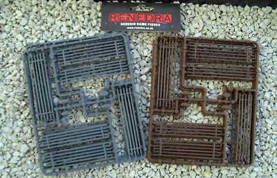 Renedra 28mm Worm Fences - Brown # RN11