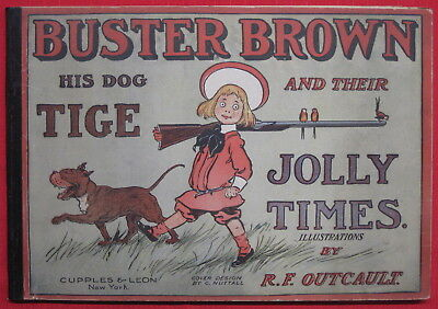 R. F. Outcault Buster Brown 1906 Platinum Age Comic Strip Collection