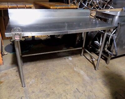 Kell Kraft Commercial Kitchen Stainless Steel Food Prep Work Table 60 x 30