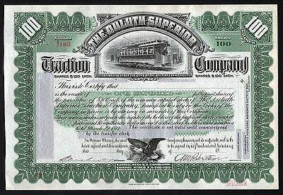 19__ Connecticut: The Duluth Superior Traction Company, green