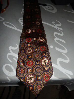 Alfred Dunhill Hand Made Silk Tie