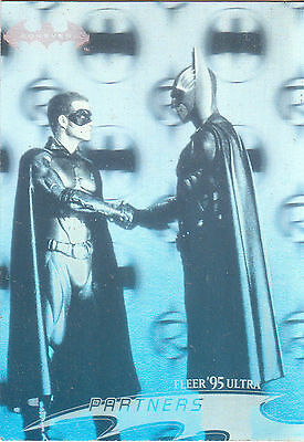 Batman Forever:1995-Movie- Fleer Ultra- Hologram Card [9 of 36]