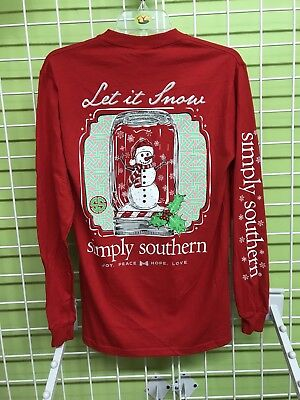 Simply Southern Let It Snow Long Sleeve
