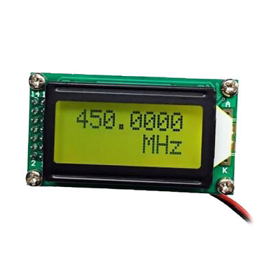 Signal Frequency Counter Cymometer Tester Meter Digital Tester PLJ-0802-C