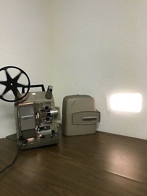 Vintage Bell & Howell auto load model 245 PA Projector W/ Forward & Reverse
